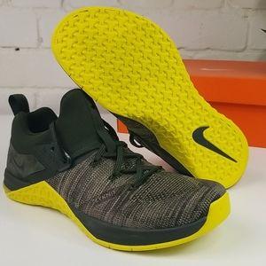 Nike Metcon Flyknit 3 AQ802 300 Mens 11 Sequoia